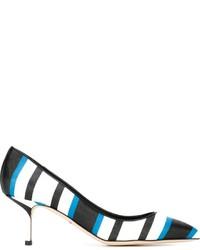 Dolce & Gabbana Striped Pumps