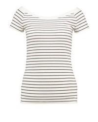 Ralph Lauren Jasleen Print T Shirt Herbal Milkpolo Black