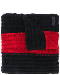 Dsquared2 Striped Knitted Scarf