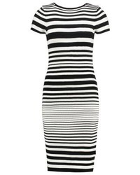 Anna Field Jumper Dress Blackwhite