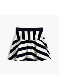 J.Crew Girls Directional Stripe Pull On Skirt