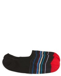 Bugatchi Pop Stripe Low Cut Socks