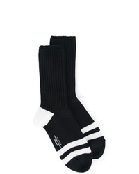 Unused Striped Design Socks
