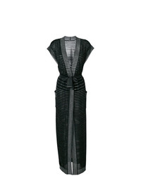 Balmain Lurex Striped Cardigan