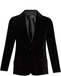 Colbert single breasted cotton velvet jacket medium 1156782