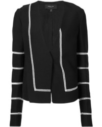 Derek Lam Contrasting Piping Fitted Jacket