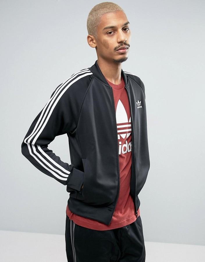 best website 05689 b3270 £56, adidas Originals Superstar Track Jacket In Black Bk5921