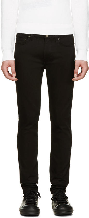 Acne Studios Black Ace Stay Cash Jeans | Where to buy & how to wear