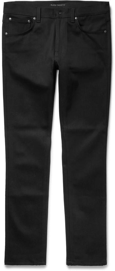 Nudie Jeans Lean Dean Slim Fit Stretch Denim Jeans