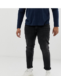 Jack & Jones Plus Size Jean In Washed Black