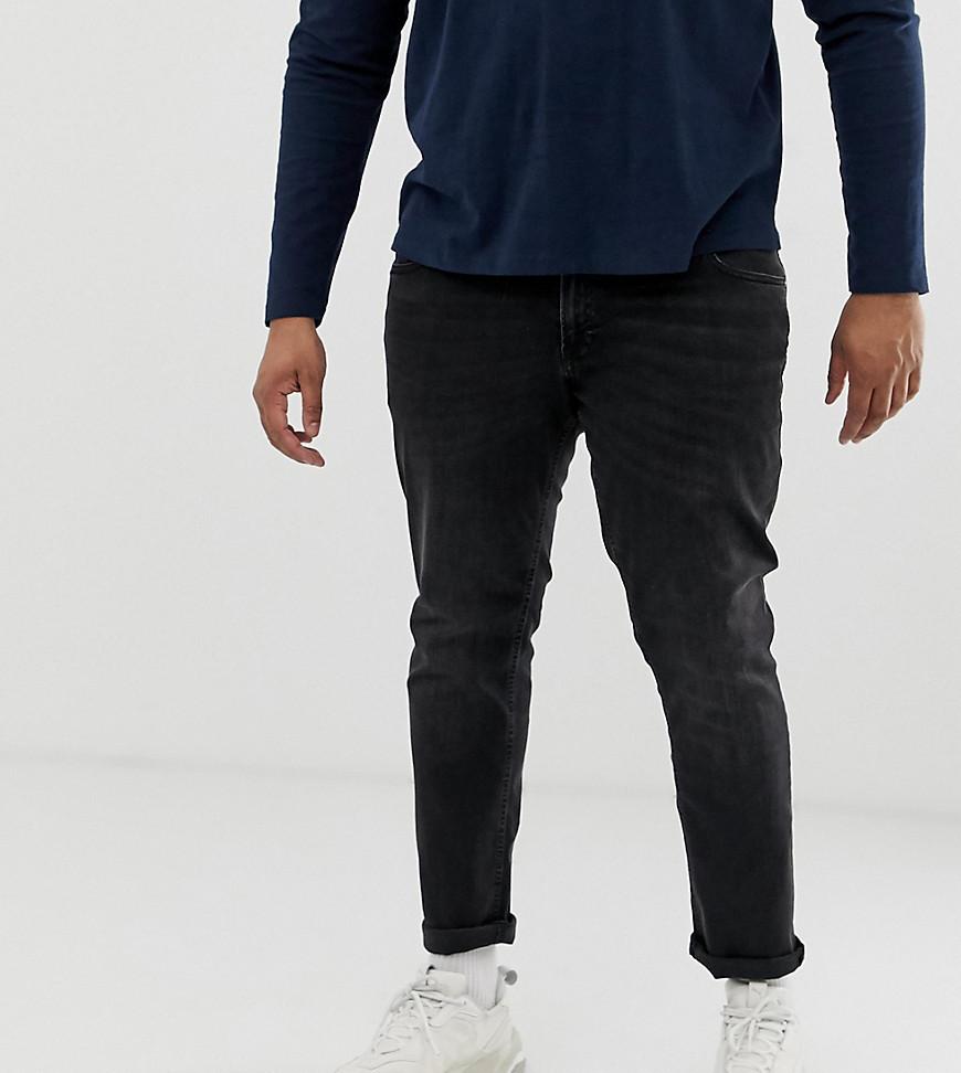 Jack & Jones Plus Size Jean In Washed Black