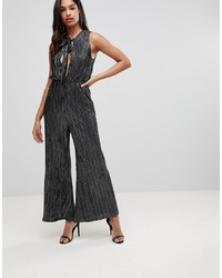 Isla Around The Corner Wide Leg Jumpsuitsilver