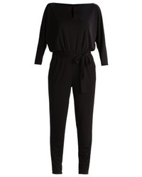 Ralph Lauren Drattea Jumpsuit Polo Black