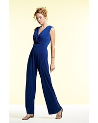 Vince Camuto Faux Wrap Jersey Jumpsuit Where To Buy How To Wear