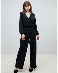 Pieces Kloe Luxe Wrap Jumpsuit