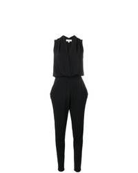 MICHAEL Michael Kors Michl Michl Kors Draped V Neck Jumpsuit
