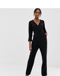 Y.A.S Tall Plunge Wide Neck Jumpsuit