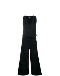 Theory Sleeveless Wrap Jumpsuit
