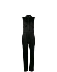 Burberry Zip Front Jumpsuit