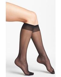 Nordstrom Sheer Knee High Trouser Socks