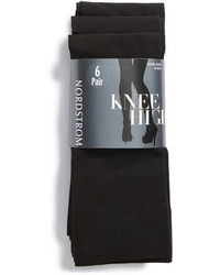 Nordstrom Solid Opaque Knee High Socks
