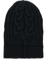 Versace Cable Knit Beanie Hat