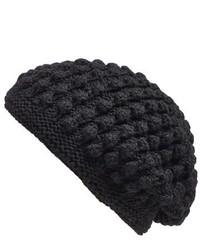 Nirvanna Designs Popcorn Knit Slouch Beanie