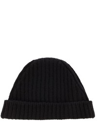 Marni Wool Ribbed Knit Beanie Hat