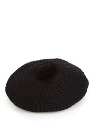 Gucci Pompom Knitted Beret
