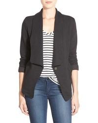 Roll sleeve knit blazer medium 420331