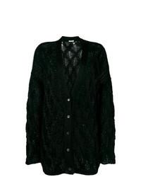 Black Knit Cardigan