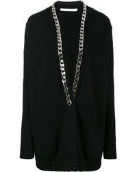 Thick chain knitted cardigan medium 5052979