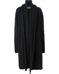 Black Knit Coat
