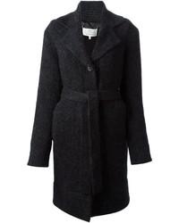 Maison Margiela Knitted Belted Cardi Coat