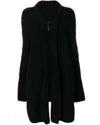 Isabel Benenato Ribbed Knit Cardi Coat