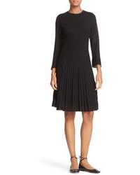 Kate Spade New York Shimmer Knit Fit Flare Dress