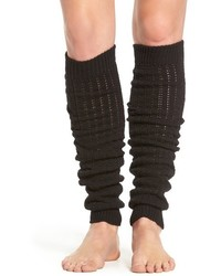 Hue Open Knit Leg Warmers