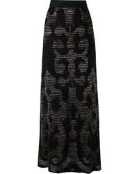 Knitted maxi skirt medium 1159771
