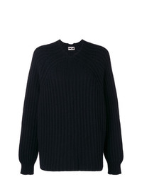 Hache Knit Sweater