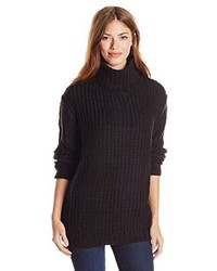 MinkPink Another Night Chunky Turtleneck Sweater