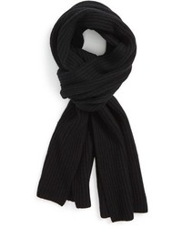 Calibrate Ribbed Wool Cashmere Scarf