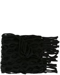 Marquesalmeida mesh knit fringe scarf medium 807844