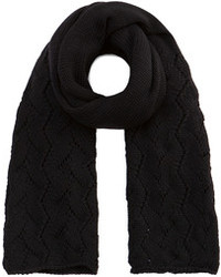 Stephan Schneider Lemna Scarf In Black Knit