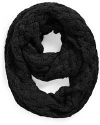 Tildon Crisscross Knit Infinity Scarf