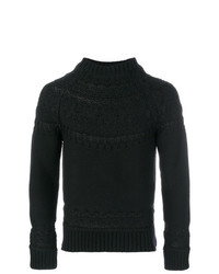 Alexander McQueen Shiny Stitch Detail Sweater