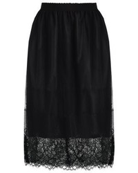 New Look A Line Skirt Black