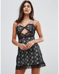 Millie Mackintosh Notting Hill Lace Cut Out Slip Dress