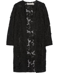 Black Lace Coat