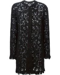 Ermanno Scervino Embroidered Lace Coat