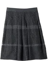 Black Lace Full Skirt